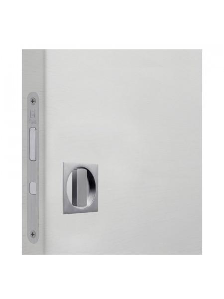 Комплект для раздвижных дверей Bonaiti WC (Механизм G500T H21 +ручки EASY QUADRO) матовый хром