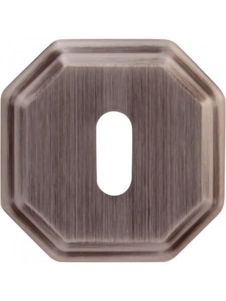 Дверная накладка Forme Cab квадратная RAT Затемненное серебро