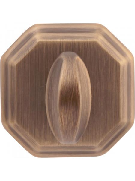 Дверной фиксатор Forme WC квадратный RAT Матовая бронза