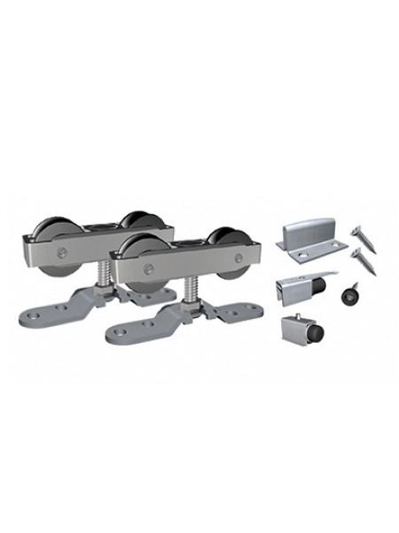 SF-A81 Комплект фурнитуры на 1 дверь 80 кг. для деревянных дверей (008100)