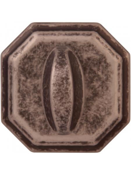 Дверной фиксатор Forme WC квадратный RAT Античное серебро