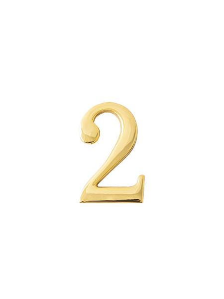 Цифра дверная Apecs DN-01-2-Z-G