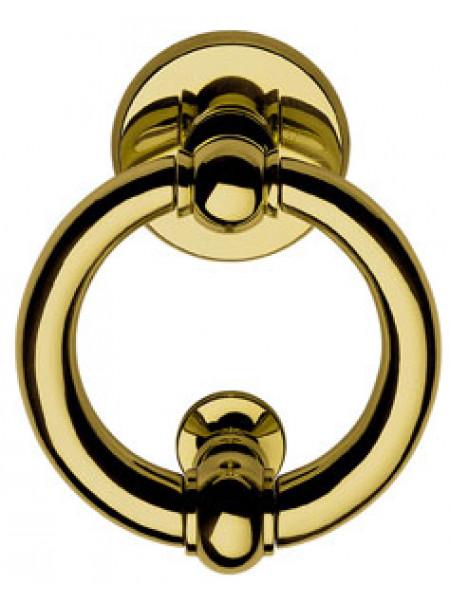 Дверная стучалка Linea Cali 357 BA OL ANELLO (90mm) Золото полированное