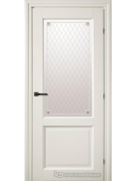 6000 Белый CPL Дверь 6324 ДО 21- 7….9 (пр/л), с фурн., Стекло Пико