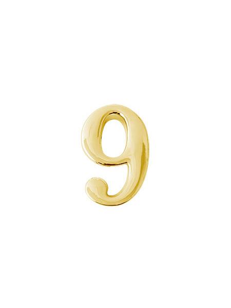 Цифра дверная Apecs DN-01-9-Z-G