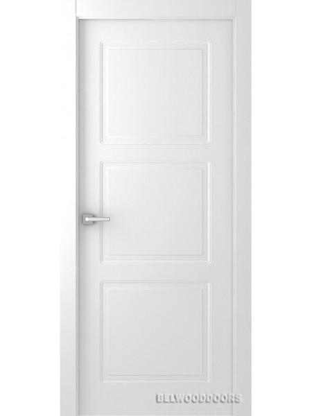 Межкомнатная дверь Belwooddoors GRANNA (ПОЛОТНО ГЛУХОЕ), Эмаль белый