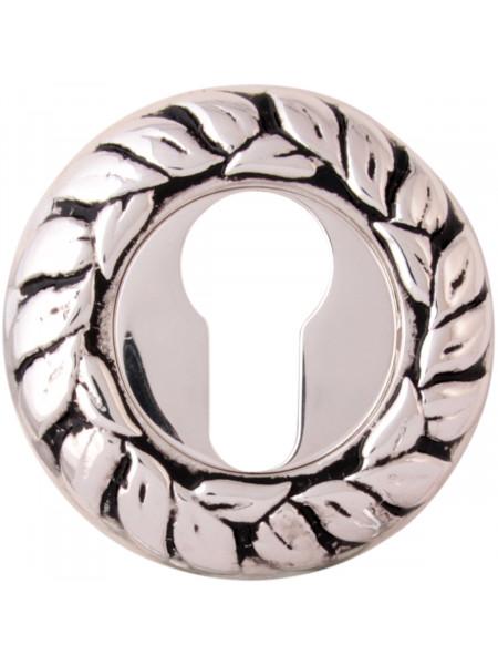 Дверная накладка Class Cyl 60 мм Серебро 925 + черный