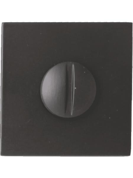 Дверной фиксатор Forme WC квадратный Asti Графит (FIXA)