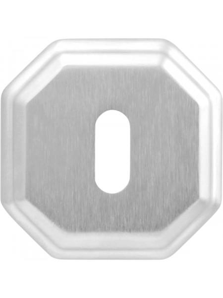 Дверная накладка Forme Cab квадратная RAT Матовый хром