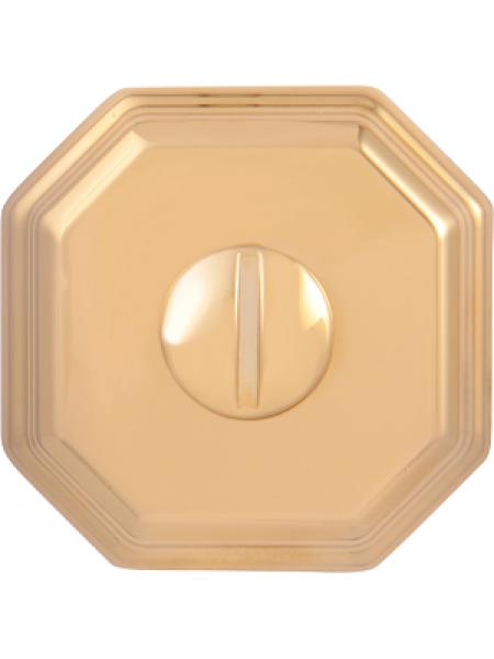 Дверной фиксатор Forme WC квадратный RAT Золото PVD