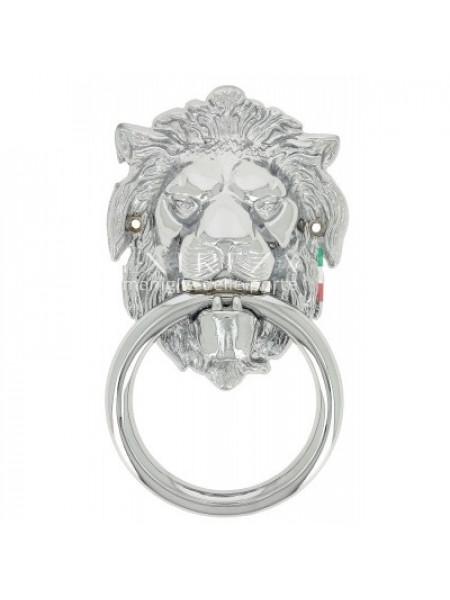 Дверное кольцо Extreza Leo полированный хром F04