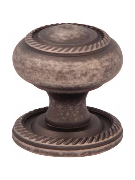 Мебельная ручка Melodia 802 Античное серебро DAS GEORGIAN D25 mm