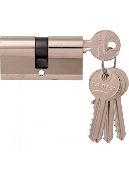 Дверной цилиндр Melodia 60 30/30 5 ключей Полированный хром