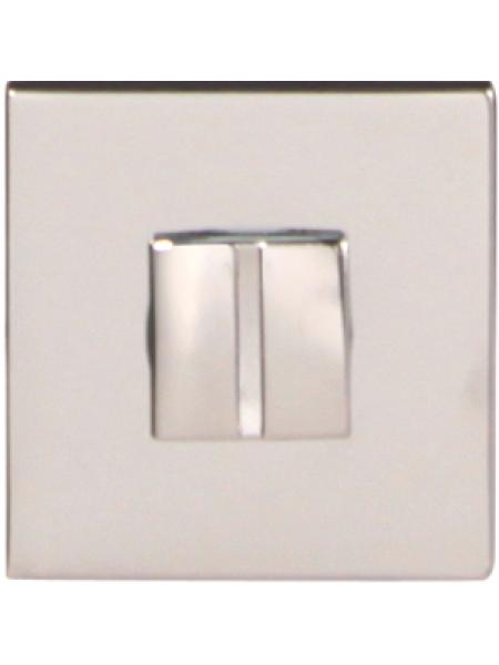 Дверной фиксатор Forme WC квадратный Asti Полированный хром (FIXA)