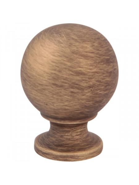 Мебельная ручка Melodia 803 Матовая бронза MAB BALL D30 mm