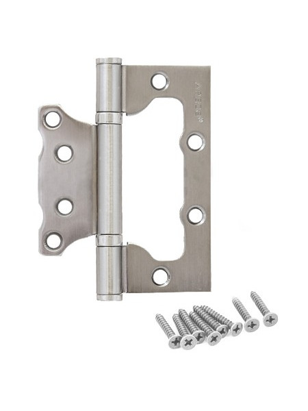 Петля накладная Apecs 100*75*2.5-B2-Steel-CRM