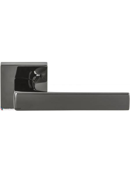 Дверная ручка на квадратной розетке COLOMBO Robocinque S ID71RSB-GL графит