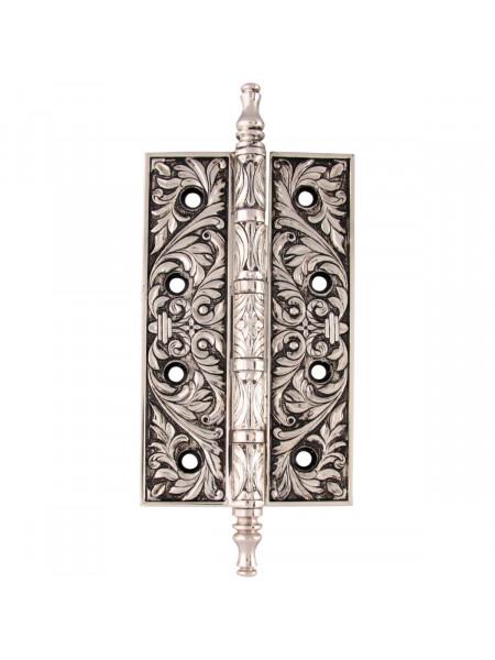 Дверная петля накладная Class В 5015 Серебро 925 + черный
