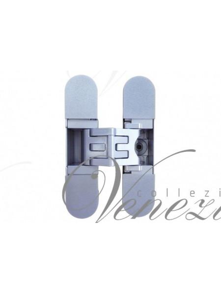 KUBICA 2700 DXSX, CS петля скрытая универсальная центральная Матовый хром (57 kg)