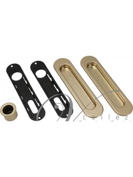 Ручка для раздвижной двери AGB KIT F B01927.00.10 (Золото)