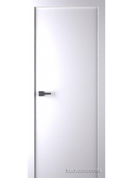 Межкомнатная дверь Belwooddoors AVESTA (ПОЛОТНО ГЛУХОЕ), Эмаль белый