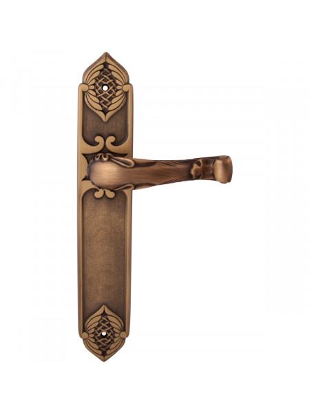 Дверная ручка на планке Class 1160/1010 Gema Pass Матовая бронза