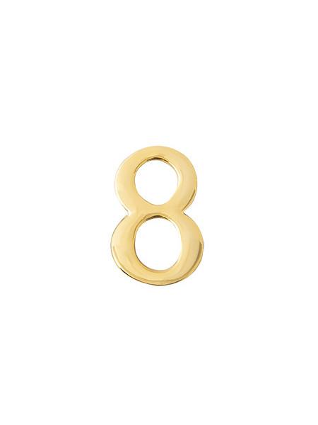 Цифра дверная Apecs DN-01-8-Z-G