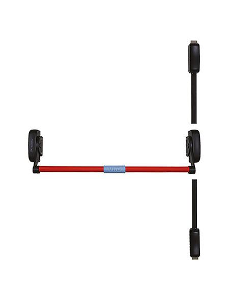 Ручка-штанга нажимная с тягами VIRO 6B02.115S.1.RN - BL/Red