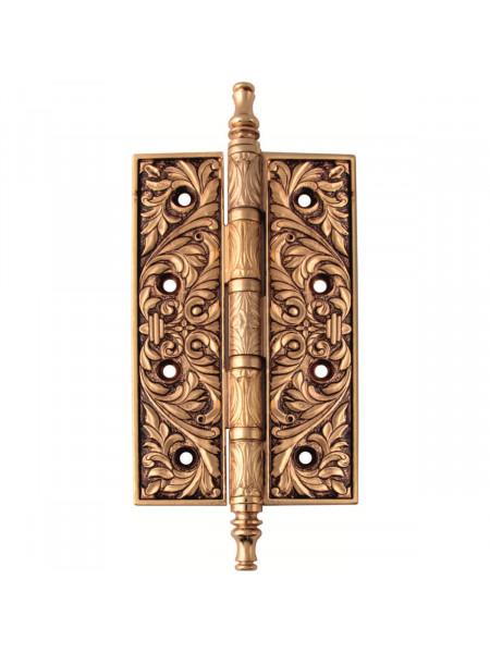 Дверная петля накладная Class В 5015 Золото 24К + коричневый