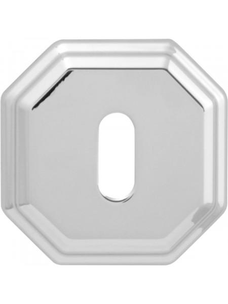 Дверная накладка Forme Cab квадратная RAT Полированный хром