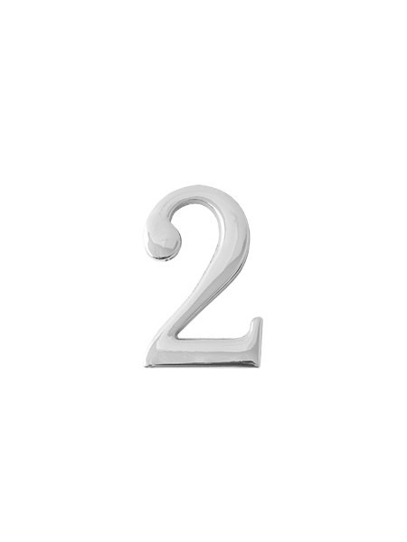 Цифра дверная Apecs DN-01-2-Z-CR