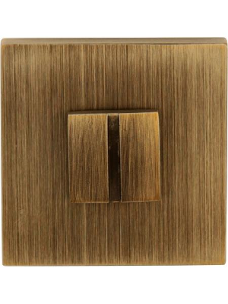 Дверной фиксатор Forme WC квадратный Asti Матовая бронза (FIXA)