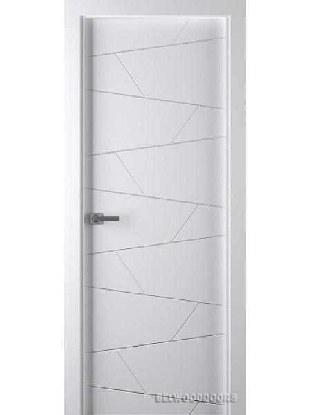 Межкомнатная дверь Belwooddoors SVEA (ПОЛОТНО ГЛУХОЕ), Эмаль белый