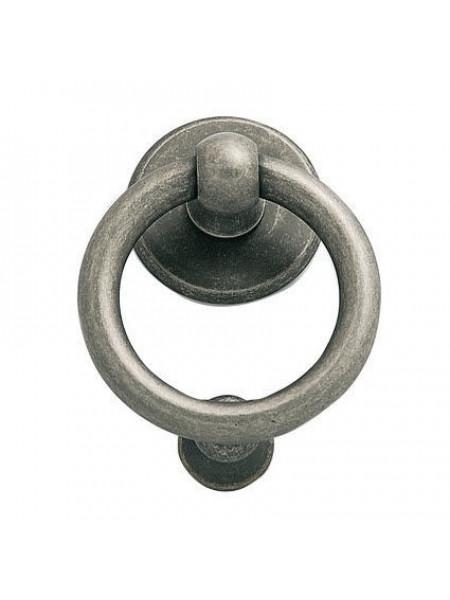 Дверное кольцо Pasini Anello  Knocker Peltro Серебро античное