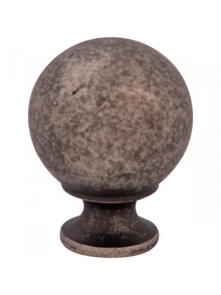 Мебельная ручка Melodia 803 Античное серебро DAS BALL D22 mm