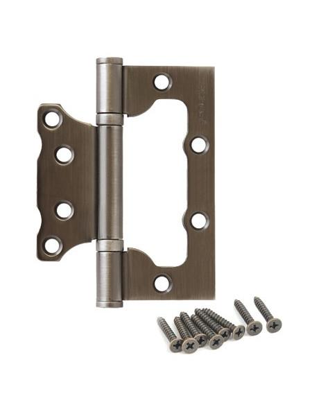 Петля накладная Apecs 100*75*2.5-B2-Steel-GRF