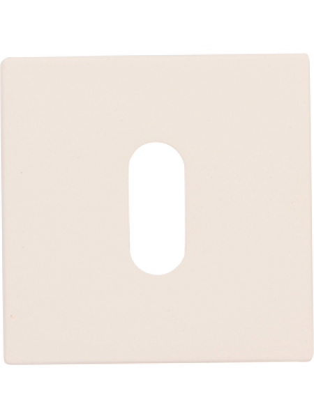 Дверная накладка Forme Cab квадратная Белый матовый (FIXA)