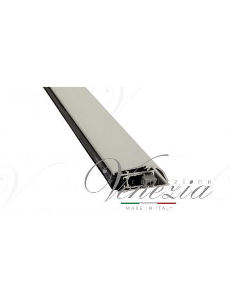 Автопорог- антипорог дверной накладной Venezia 1450/900 мм регулировка 1 уровень цвет серебристый