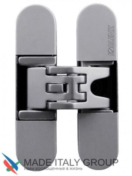 KUBICA 6200 DXSX, NS петля скрытая универсальная Матовый никель (57 kg)