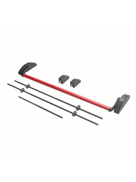 Ручка-штанга нажимная с тягами Apecs PB-1700C-Panic-BL/Red