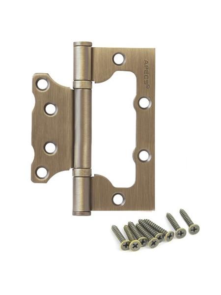Петля накладная Apecs 100*75*2.5-B2-Steel-MB