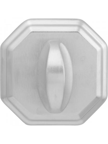 Дверной фиксатор Forme WC квадратный RAT Матовый хром