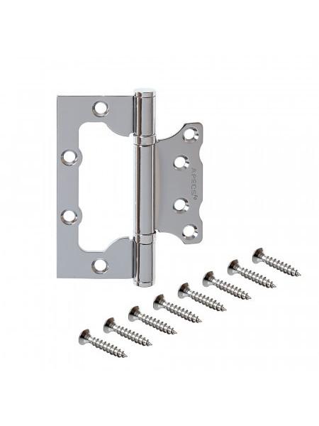 Петля накладная Apecs 100*75*2.5-B2-Steel-CR