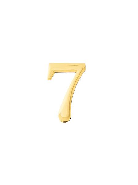 Цифра дверная Apecs DN-01-7-Z-G
