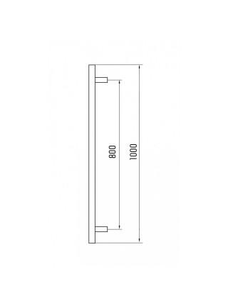 Комплект дверных ручек-скоб Doorlock DL PHS 12 32-1000-800