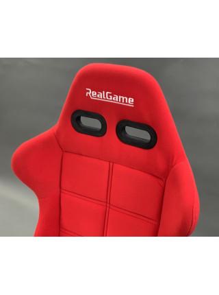 Кокпит для симрейсинга / автосимулятор RealGame Perfomance (Красный)