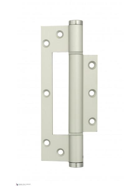 Петля пружинная без врезки Justor 6354.01 150x30 матовый хром (60 кг)
