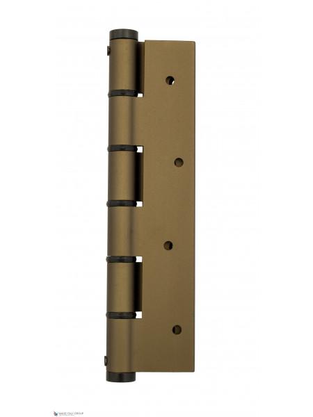 Петля пружинная Justor 5814.03 180 мм античная бронза (60 кг)