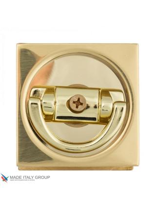 Ручка для раздвижной/распашной двери Venezia U144 полированная латунь